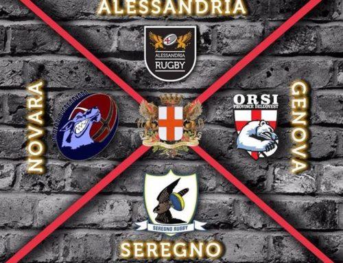 Torneo di S. Baudolino: ad Alessandria più di duecento mini rugbisti