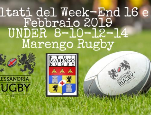 Risultati del Week-End 16 e 17 febbraio 2019