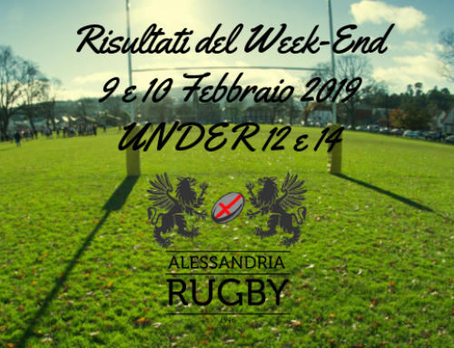 Risultati del week-end Under 14 e 12
