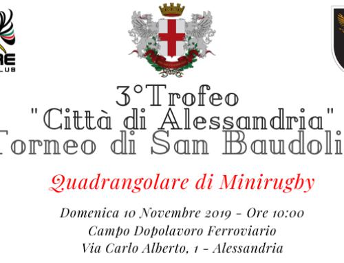 """3° Trofeo """" Città di Alessandria"""" Torneo di San Baudolino"""