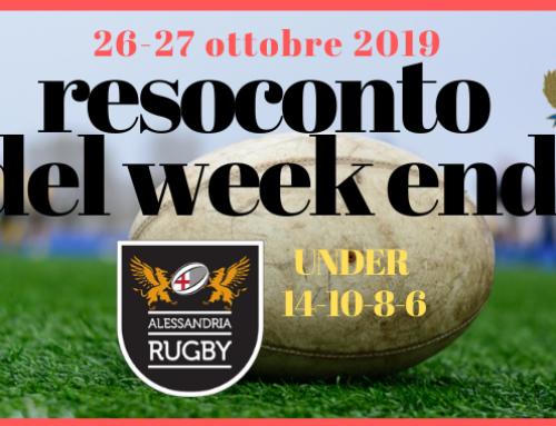 Resoconto del Week End 26-27 Ottobre 2019