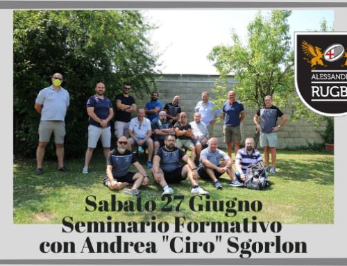"""Una giornata con Andrea """"Ciro"""" Sgorlon"""